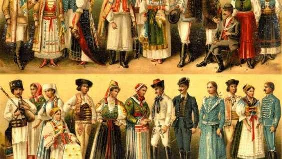 német viseletek